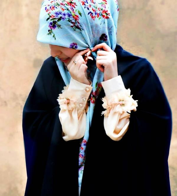 روسری مناسب زیر چادر