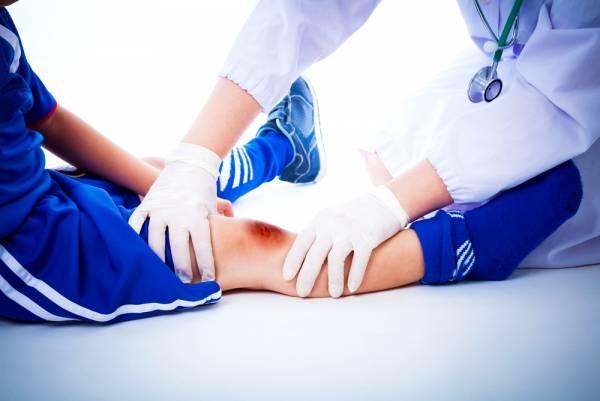 آسیب کودکان ورزشکار