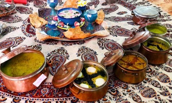 انواع غذاهای اصفهانی