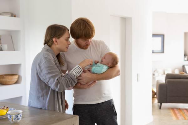 آرام کردن گریه نوزاد
