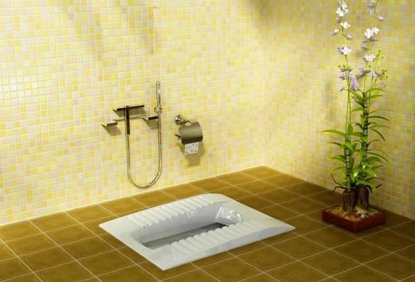 گرفتگی توالت