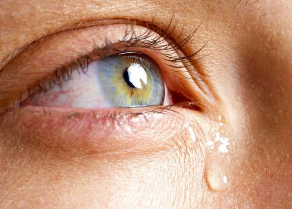 گریه کردن بیش از حد