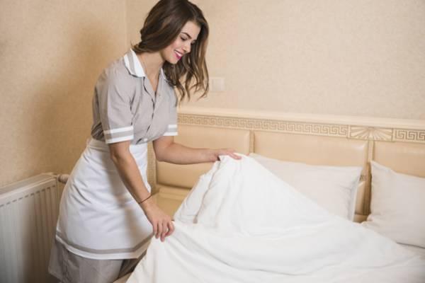 تمیز کردن تخت خواب