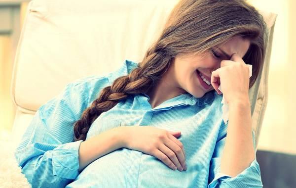 گریه مکرر در بارداری