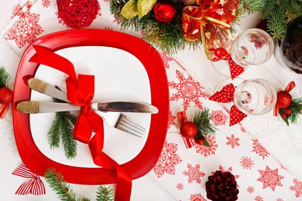 غذای کریسمس