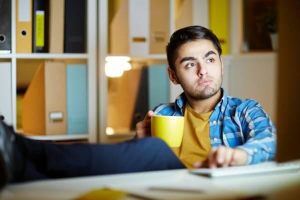 استراحت بین درس خواندن