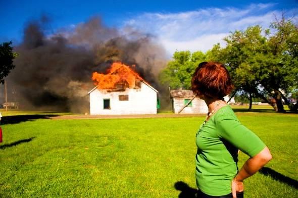نکات آتش سوزی