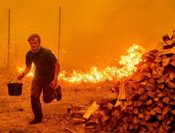 زنده ماندن در آتش سوزی