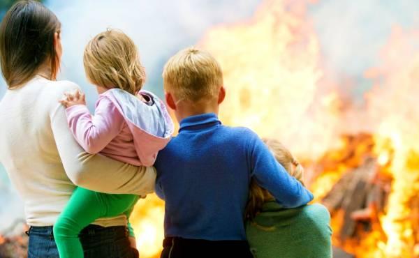 نجات از آتش سوزی