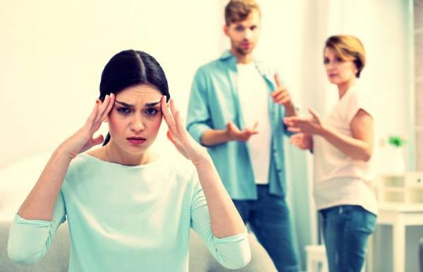دخالت های خانواده همسر