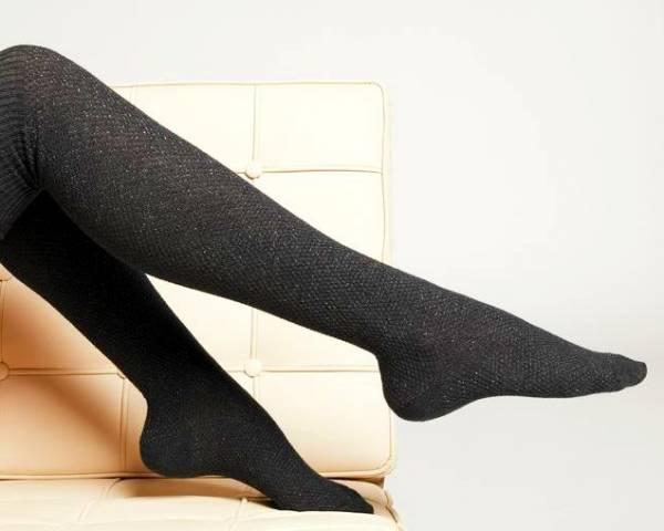 جوراب بالای زانو