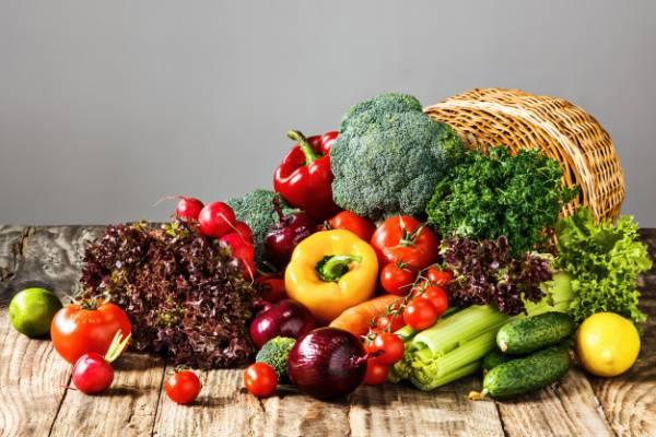 نیاز بدن به سبزیجات