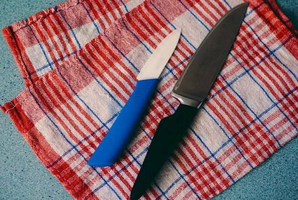 تیغه سرامیکی چاقو