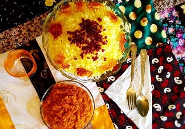 شکر پلو بوشهری