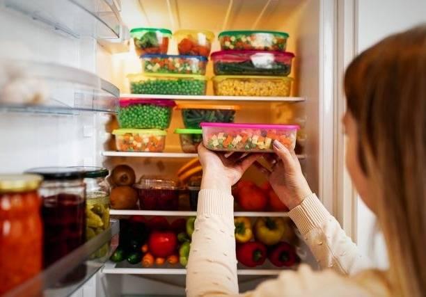 نگهداری باقیمانده غذا ها