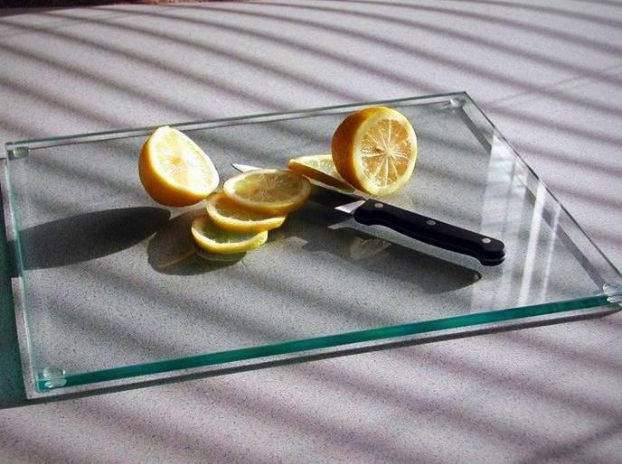 تخته آشپزخانه شیشه ای